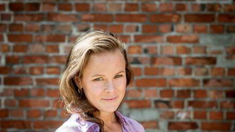 Martine Lunder Brenne har jobbet som direktør i Egmont i under ett år.
