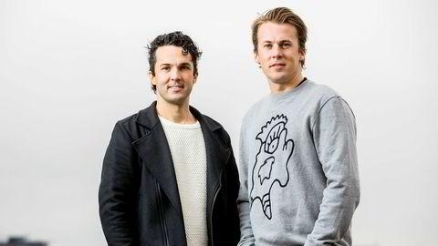 Brødrene Vegard Ylvisåker (t.v.) og Bård Ylvisåker tjener fortsatt godt. Her fra Discovery Networks vårlansering i 2017.