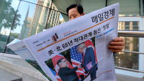 Kim Jong-un vil neppe gi fra seg atomvåpenarsenalet i en jafs, men det blir spekulert i om man kan se en gradvis avvikling, skriver artikkelforfatteren.