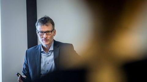 Seniorøkonom Knut. A. Magnussen i DNB Markets mener oppgangen vil bli tregere fremover.