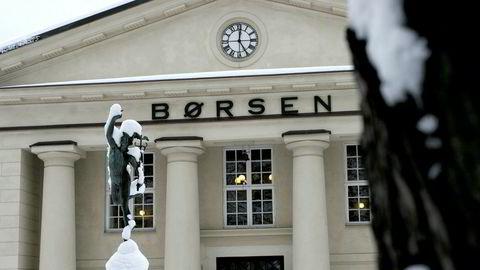 Oslo Børs vinter 09