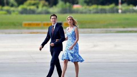 De private epostkontoene til presidentdatter Ivanka Trump og hennes mann Jared Kushner er i søkelyset.