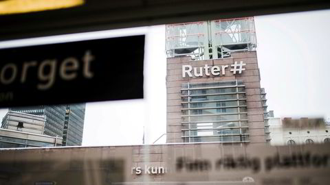 Jernbanetorget er et knutepunkt for Ruters kollektivtrafikk i Oslo