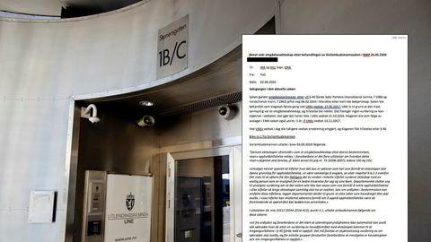 Også internt i Utlendingsnemnda har det kommet forslag om granskning. Her er inngangen til kontorene ved Oslo City.