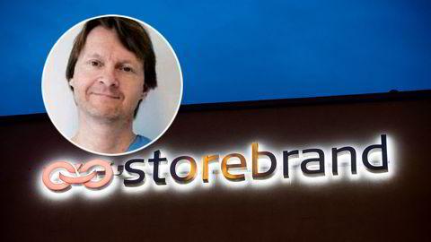 Ole Morten Halvorsen har store papirtap i Storebrand, hvor han eier aksjer for 577 millioner kroner.