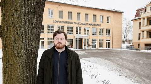 – Man kan mene hva man vil om kjønnskvotering som virkemiddel, men i denne sammenhengen ser jeg ingen ulemper med det, sier sykepleiestudent Aksel Kvalsvik (23).