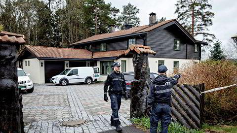 28. april i år ble Tom Hagen pågrepet. Politiet beslagla huset i Sloraveien for å gjøre kriminaltekniske undersøkelser.