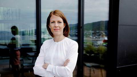 Ragnhild Janbu Fresvik, konserndirektør for bedriftsmarked i Sparebanken Vest, konstaterer at mange bedrifter på Vestlandet forsatt har en lang vei tilbake til førkrisenivåer.