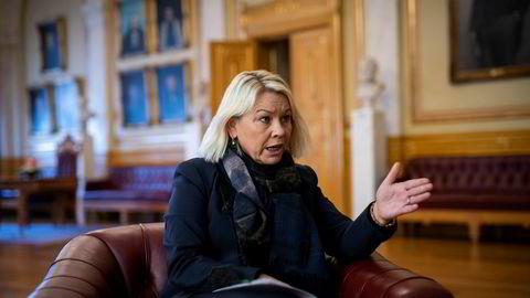 Justisminister Monica Mælands statssekretær svarer for departementet.