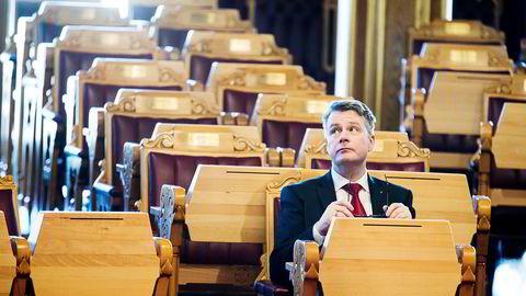 Per-Willy Amundsen er en av flere Frp-statsråder som har styrt Justisdepartementet de siste årene.