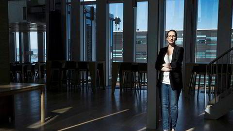Kjersti Haugland, sjeføkonom i DNB Markets, ble overrasket over shoppetallene som ble lagt frem onsdag morgen.