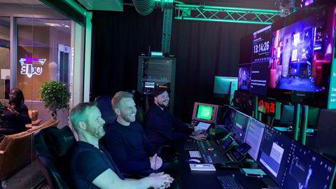 Portal One-gründerne har sikret seg storkapital i ryggen. Fra venstre: administrerende direktør Bård Anders Kasin, innholdsdirektør Stig Olav Kasin og videosjef Espen Horne.