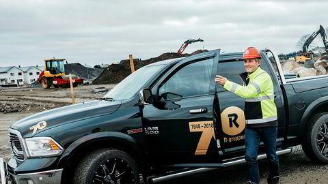 Anleggsentreprenøren Risa as har sendt permitteringsvarsel til 200 av sine rundt 500 ansatte. Her daglig leder Bjørn Risa.