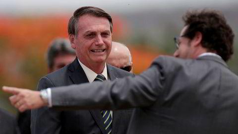 Brasils president Jair Bolsonaro stifter nytt parti.