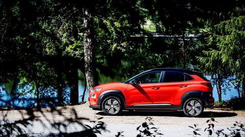 I juni var det Hyundai Kona som var den nest mest registrerte bilen etter Volkswagen Golf.