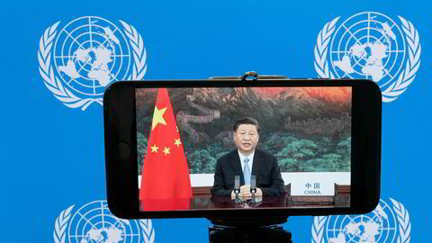 President Xi Jinping hadde gode klimanyheter i sin tale til FNs hovedforsamling. Det er positivt for Norge og norsk næringsliv.