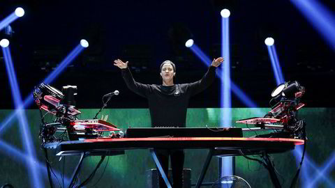 Kyrre «Kygo» Gørvell-Dahll under Iheartradio Music-festivalen i Las Vegas i 2018.