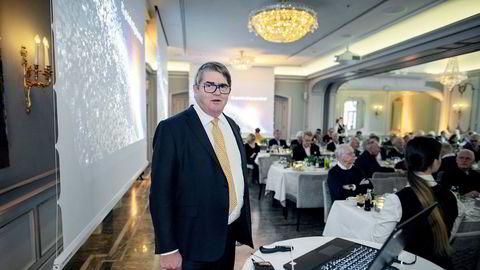 Forvalter Jan Petter Sissener tror dagens børsfall vitner om at investorer vil sikre verdier etter et godt kvartal.