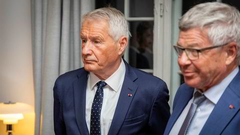 Thorbjørn Jagland (69) og Kjell Magne Bondevik (73) er blant norske eks-politikere som har skrevet under på det omdiskuterte oppropet – som går ut på at land må slutte seg til en konvensjon om forbud mot kjernevåpen.