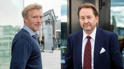 Martin Mølsæter og Kjell Inge Røkke.