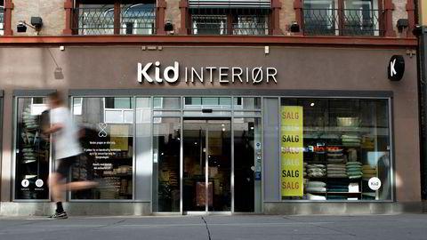 Kid la torsdag frem sine regnskapstall for andre kvartal. Bildet viser Kid-butikken i Torggata i Oslo i juli.