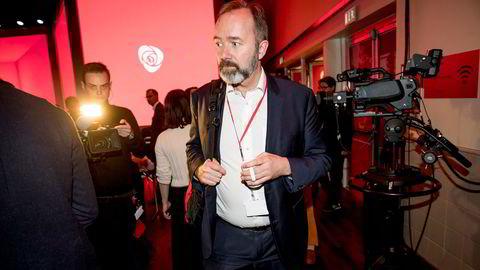 Trond Giske på Arbeiderpartiets landsmøte 2019.