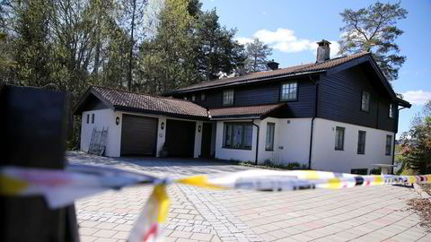 Hagen-familiens bolig i Sloraveien i Lørenskog.