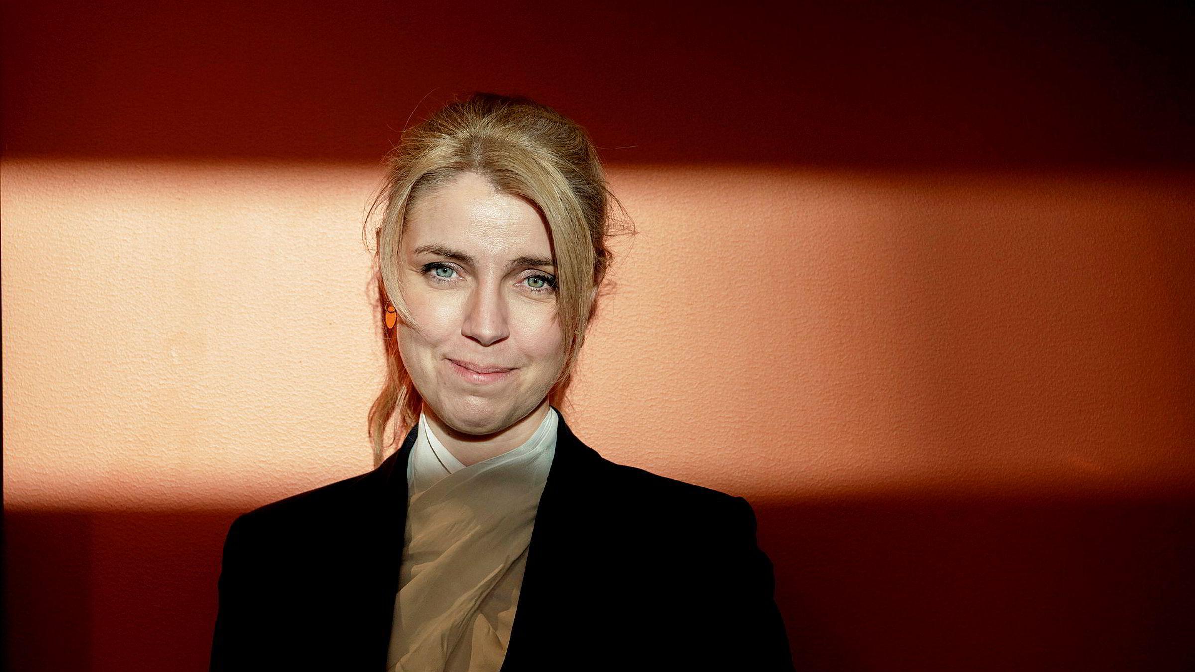 Sjefredaktør Alexandra Beverfjord har grunn til å smile. Avisen er frifunnet i Oslo tingrett.