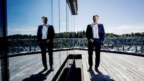 Konsernsjef Øystein Moan i Visma økte selskapets inntekter med 1,5 milliarder kroner i fjor.