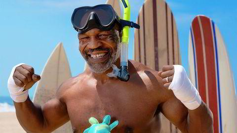 Bad boy. Den tidligere verdensmesteren i tungvektsboksing tar pause fra karrieren som skuespiller og marihuanamagnat når han denne helgen entrer ringen i Los Angeles.