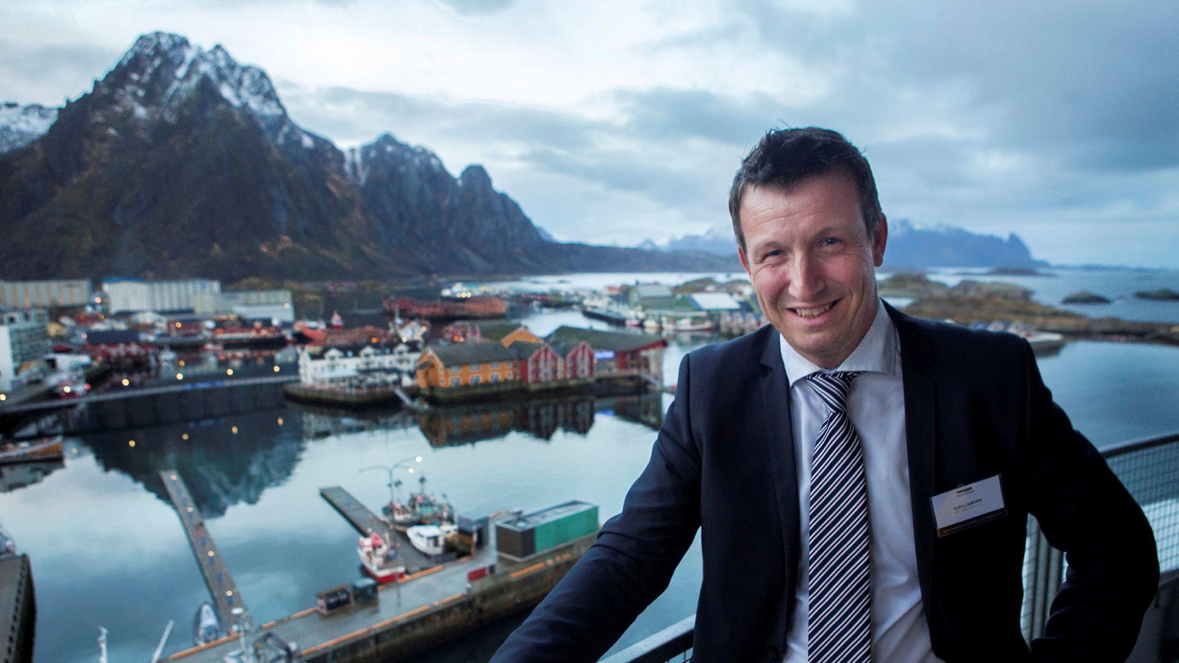 Administrerende direktør Kjell Giæver i den nordnorske leverandørsammenslutningen Petro Arctic spår at det kan bli 3000 nye arbeidsplasser i oljenæringen i nord i løpet av de neste ti årene. Foto: Jan-Morten Bjørnbakk / NTB scanpix