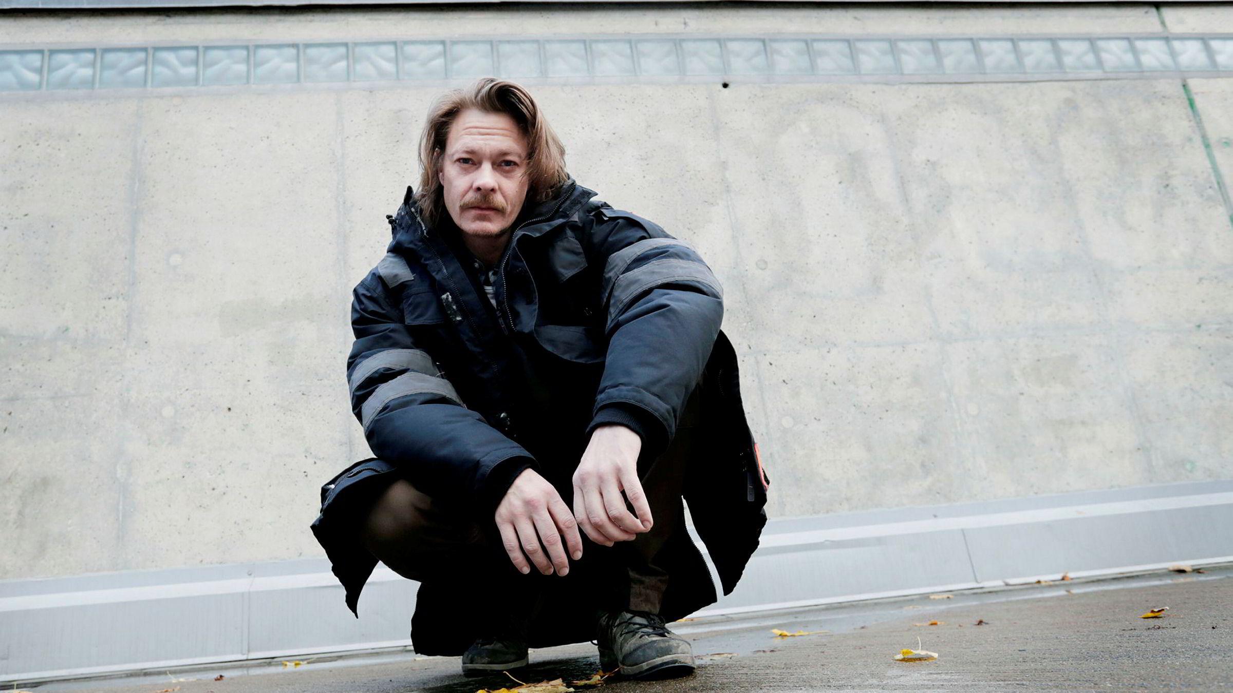 Skuespiller Kristoffer Joner har hovedrollen i den nye TV 2-serien «Kielergata».