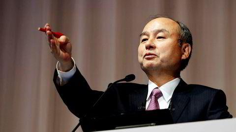 Softbanks grunnlegger har Masayoshi Son er i ferd med å snu teknologi- og investeringsselskapet etter et historisk underskudd på 123 milliarder kroner.