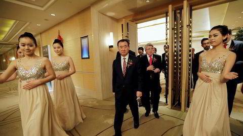 Styreformann Wang Jianlin hos Dalian Wanda Group har foretatt store investeringer over hele verden med minimalt innsyn fra kinesiske tilsyn. Nå er det stopp.