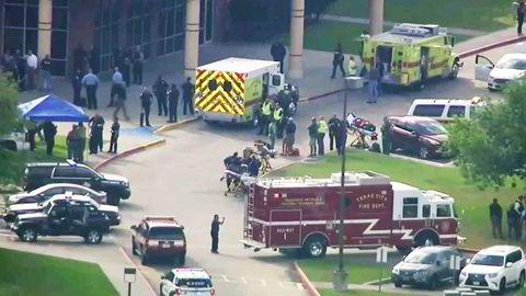 Flere skal være drept i en skyting på en skole i Texas fredag.