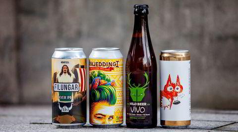 Fire moderne øl basert på den særnorske gjæren kveik er nå i salg på Vinmonopolet.