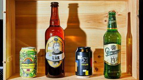 Ingen andre ølstiler selger i nærheten så mye som den lyse lageren på sommeren. I årets julislipp har polet funnet frem to klassiske tsjekkiske lagerøl og to norske håndverksvarianter.