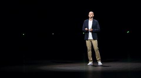 Mer enn musikk. Spotifys Daniel Ek anslår at minst 20 prosent av lytternes tid etter hvert vil bli brukt på andre ting enn musikk. Han tror podkaster blir en viktig del av strømmetjenestens innholdsmiks.