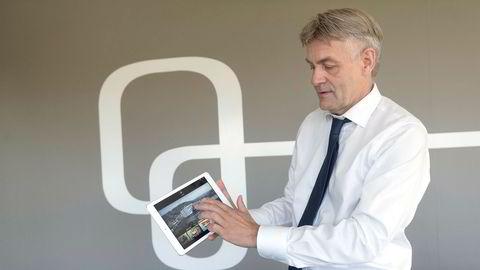 Gunnar Evensen, sjef i Get, blir kjøpt av svenske Telia.