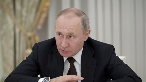 I en lengre artikkel i det konservative amerikanske tidsskriftet National Interest advarer Vladimir Putin mot historisk revisjonisme.