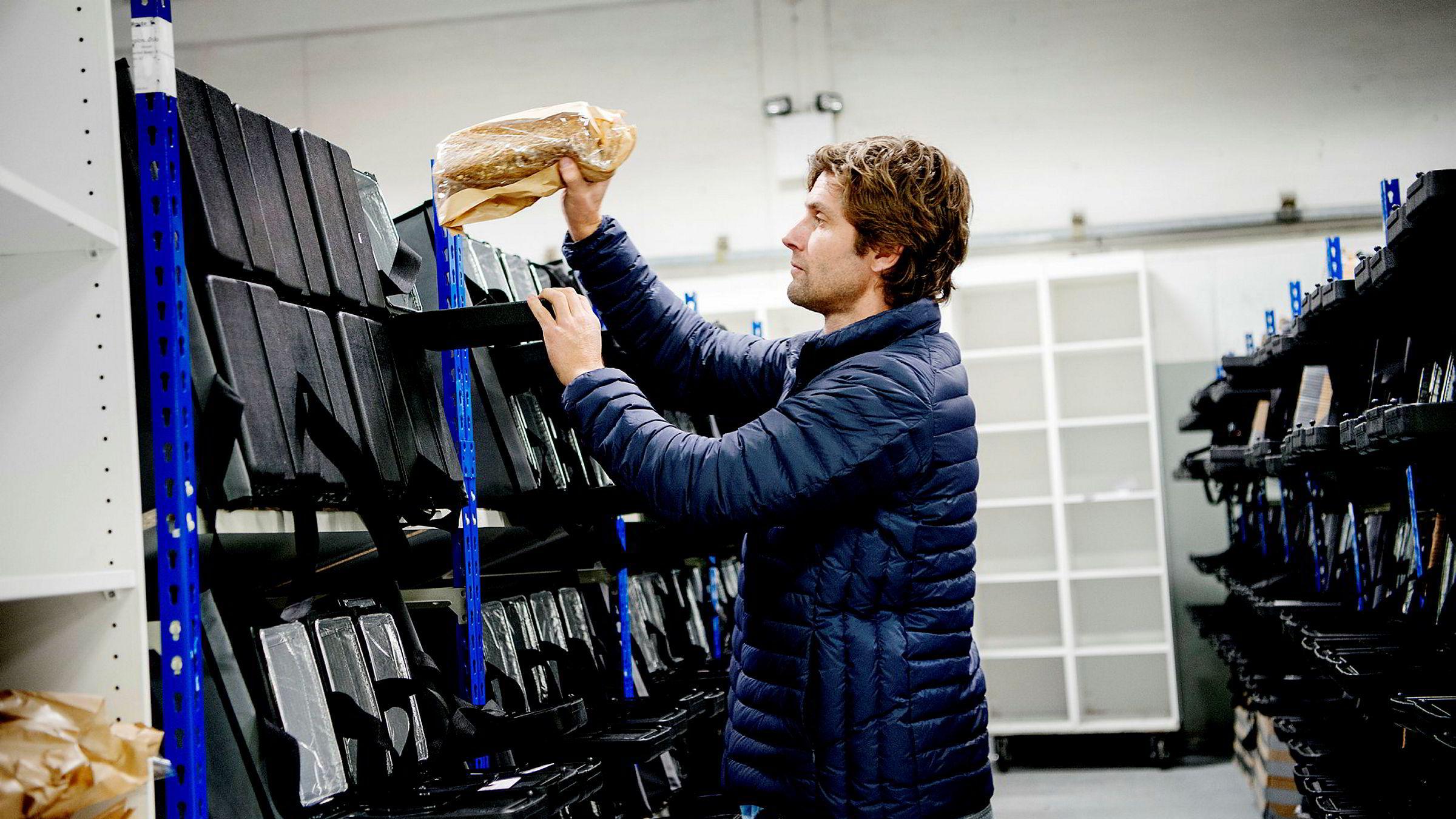 Brødboksen startet i 2014. Her er gründer Arnulf Refsnes.
