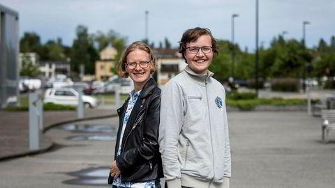 Moderne misjon. Martin Hansen og Kim Danial Marthinsen er «jesusinfluensere» på TikTok og har på kort tid samlet opp nesten 150.000 følgere og nesten fem millioner likes til sammen.
