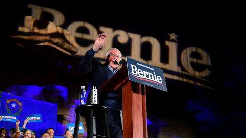 – Mitt klare budskap til Putin er: Hold deg utenfor det amerikanske valget, og som president vil jeg sørge for at du gjør det, sier Bernie Sanders.