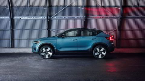 Renskåren. Hver bidige linje på Volvo C40 er nøye gjennomtenkt før den helelektriske modellen har fått slippe til, ifølge designsjef robin Page.