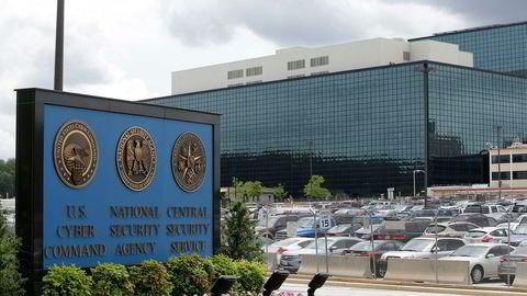 National Security Administration (NSA) er med sine rundt 30.000 ansatte USAs største etterretningsorganisasjon. Hovedkvarteret (bildet) ligger i Fort Meade i Maryland.