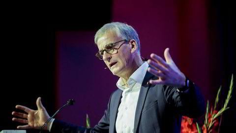 – EØS-avtalen kan påvirkes – og forbedres. Men det er den vi har, sa Ap-leder Jonas Gahr Støre på Fellesforbundets landsmøte tirsdag.