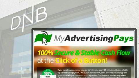 DNB er ikke ansvarlig for om en kunde bruker penger på en pyramidespilltjeneste som «My advertising Pays». Det har Finansklagenemnda slått fast.