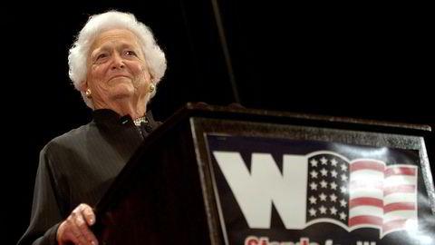 USAs tidligere førstedame Barbara Bush er død.