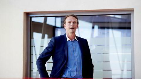 Anders Kirsebom er administrerende direktør i Avinor Flysikring.