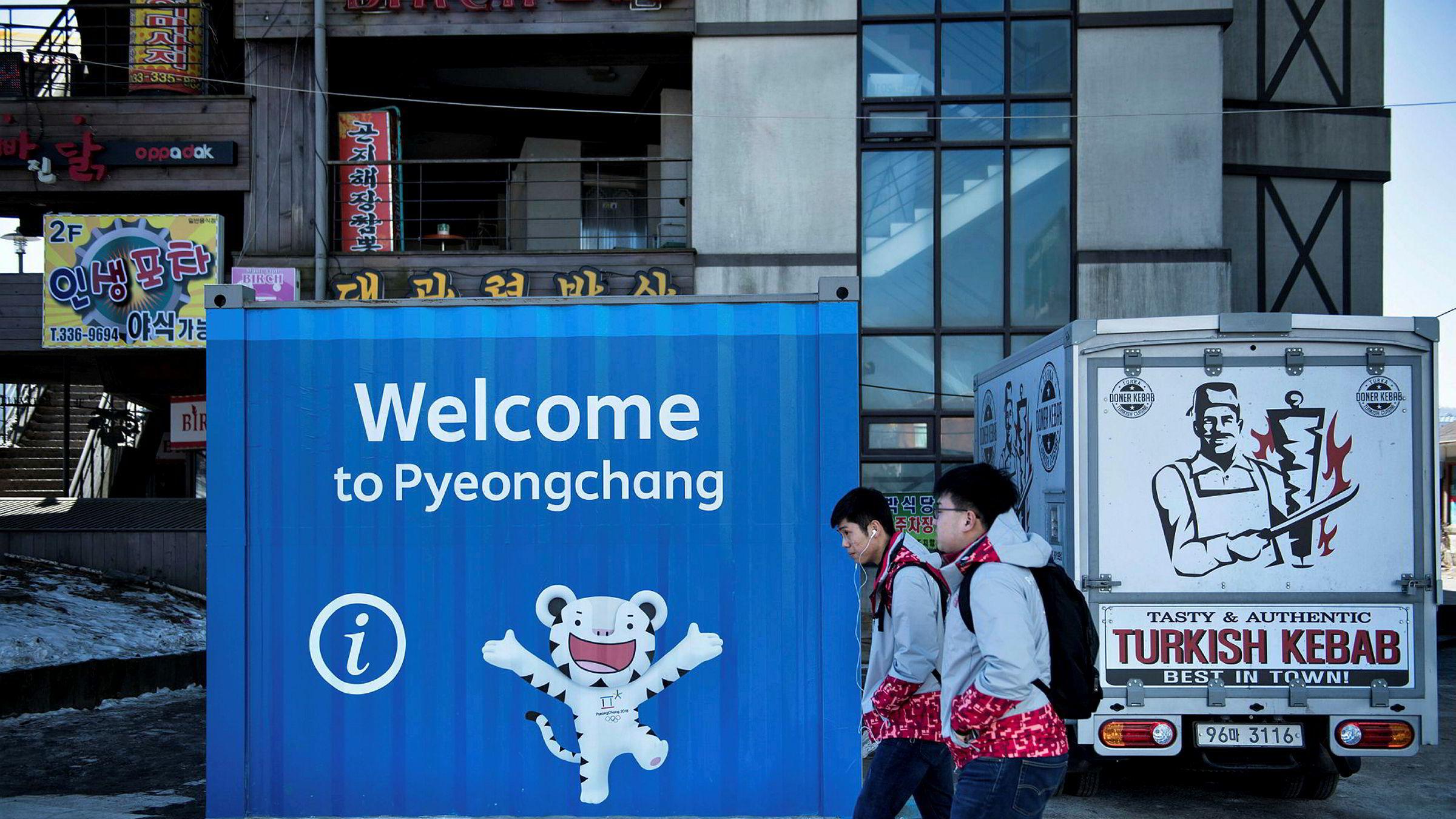 Det er mange som ikke er velkomne til vinter-OL i PyeongChang i Sør-Korea.